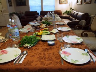 The table is almost ready for Khash