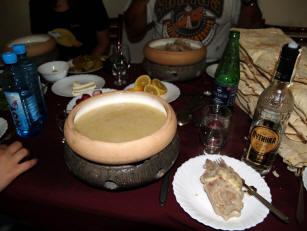 A bowl of hot Khash